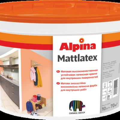 Alpina Matlatex у Львові купити фарбу
