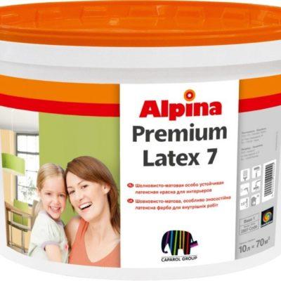 Фарба Alpina PREMIUMLATEX 7 у Львові купити