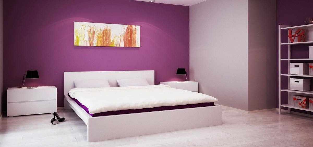 Фарби для спальні