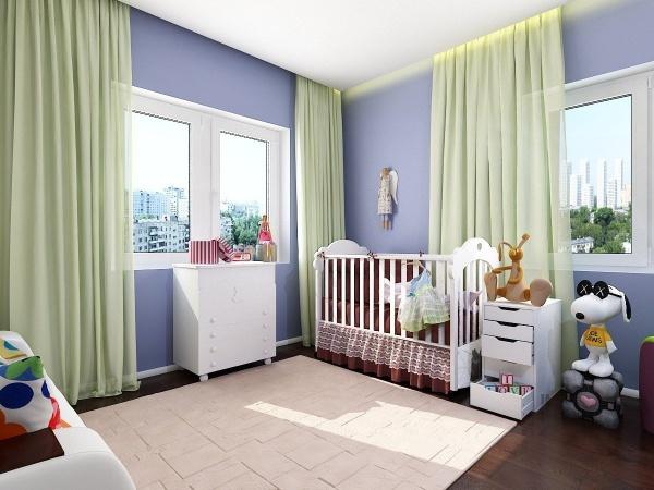 Безпечна фарба для дитячої кімнати