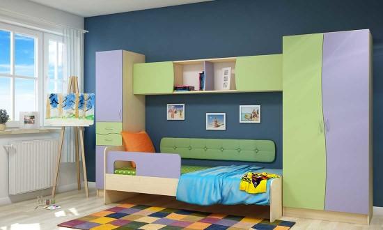 Які кольори дитячої кімнати сприятимуть навчанню