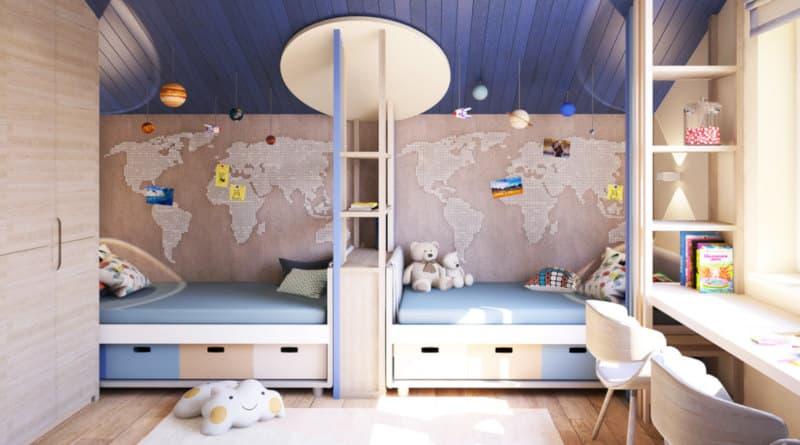 Що важливо знати про оформлення кімнат для дітей віком від 3 до 5 років