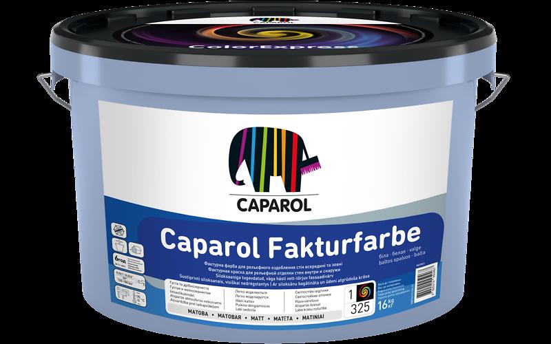 Caparol Fakturfabre-нова фасадна фарба для створення рельєфних покриттів