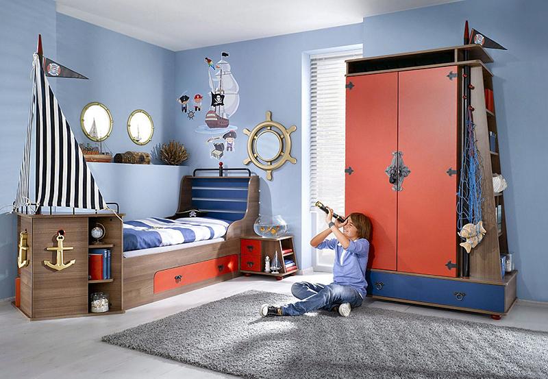 Кімната в стилі пірата