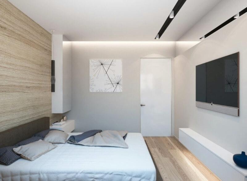 Світлі відтінки в маленькій кімнаті