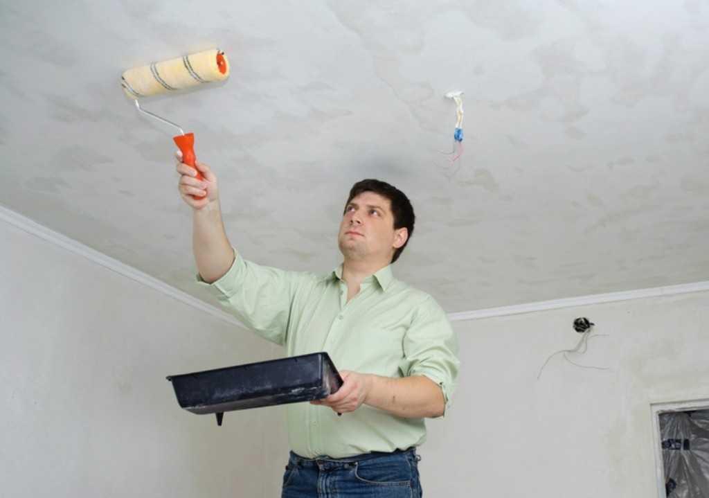 Як правильно пофарбувати стелю?